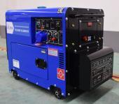 Инверторный дизельный сварочный генератор в кожухе TSS DGW 7.0/250EDS-R